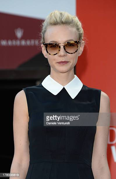 Actress Carey Mulligan attends the 'Miu Miu Women's Tale' Premiere during the 70th Venice International Film Festival at Sala Darsena on August 29...