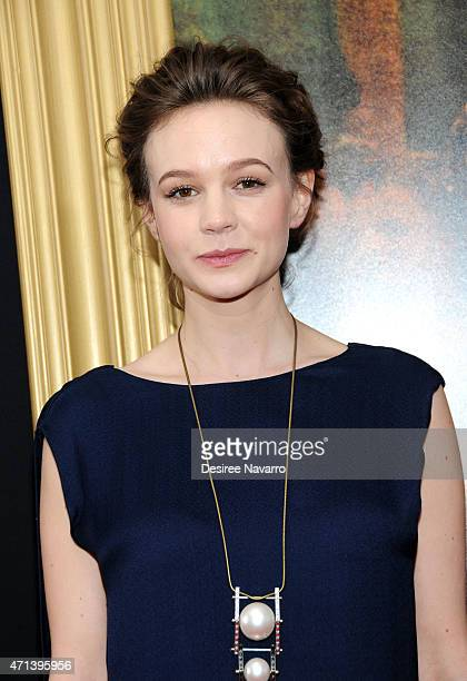 Actress Carey Mulligan attends the New York special screening of 'Far From The Madding Crowd' at The Paris Theatre on April 27 2015 in New York City