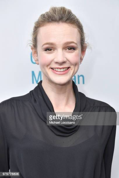 Actress Carey Mulligan attends the OffBroadway opening night of Girls Boys at the Minetta Lane Theatre on June 20 2018 in New York City