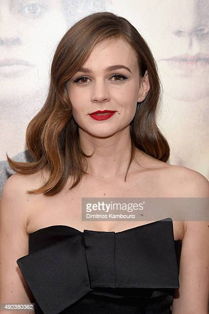 Actress Carey Mulligan attends the Suffragette New York Premiere at The Paris Theatre on October 12 2015 in New York City