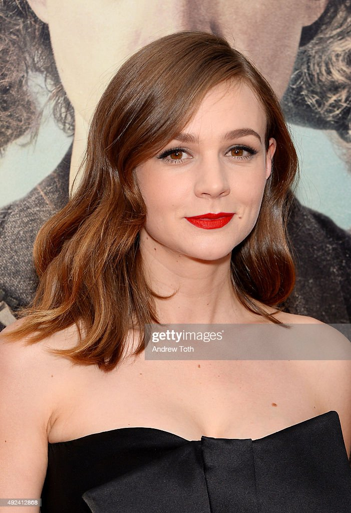 Actress Carey Mulligan attends the 'Suffragette' New York premiere at Paris Theatre on October 12, 2015 in New York City.