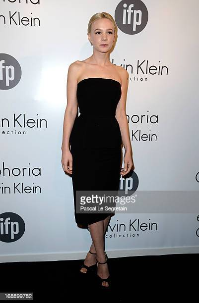 Actress Carey Mulligan attends the The IFP Calvin Klein Collection Euphoria Calvin Klein Celebrate Women In Film At The 66th Cannes Film Festival on...