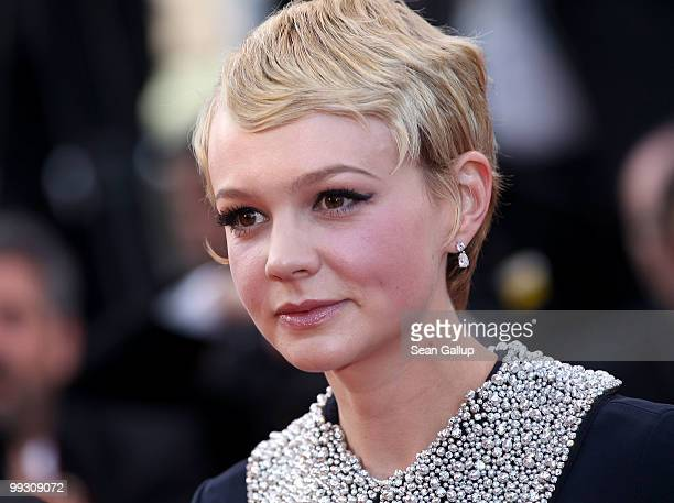 Actress Carey Mulligan attends the 'Wall Street Money Never Sleeps' Premiere at the Palais des Festivals during the 63rd Annual Cannes Film Festival...