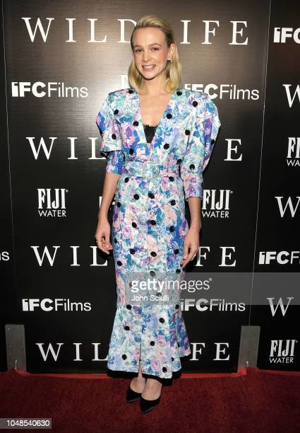 Actress Carey Mulligan attends The Wildlife Los Angeles Premiere on October 9 2018 in Los Angeles California