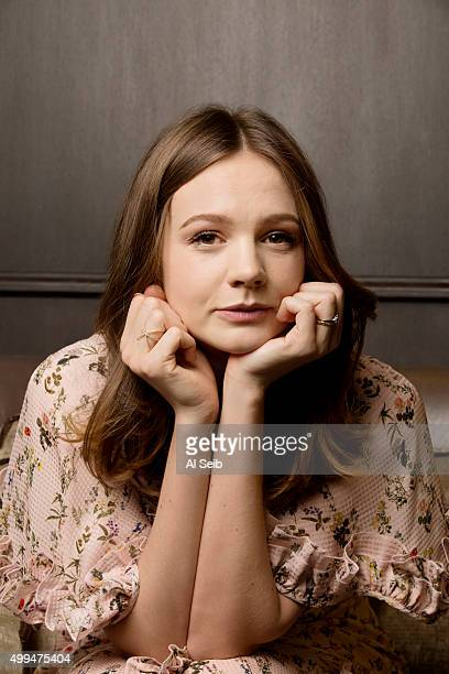 Actress Carey Mulligan is photographed for Los Angeles Times on November 9 2015 in Los Angeles California PUBLISHED IMAGE CREDIT MUST READ Al...