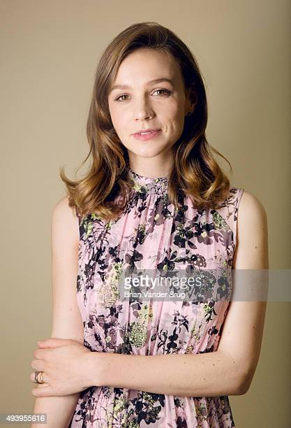 Actress Carey Mulligan of 'Suffragette' is photographed for Los Angeles Times on October 20 2015 in Los Angeles California PUBLISHED IMAGE CREDIT...