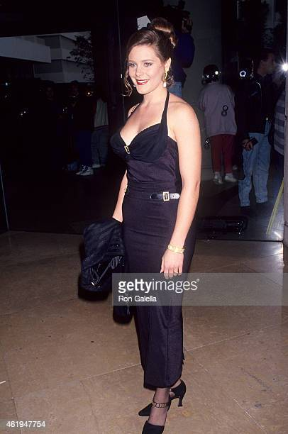 Actress Cari Shayne attends the Ninth Annual Soap Opera Digest Awards on February 26 1993 at the Beverly Hilton Hotel in Beverly Hills California