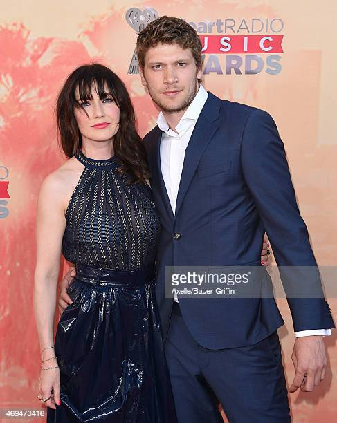 Actress Carice van Houten and director Kees van Nieuwkerk arrive at the 2015 iHeartRadio Music Awards at The Shrine Auditorium on March 29 2015 in...
