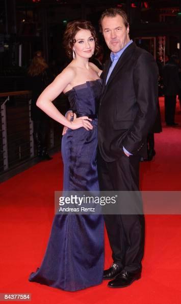 Actress Carice Van Houten And Her Husband Sebastian Koch Arrive For