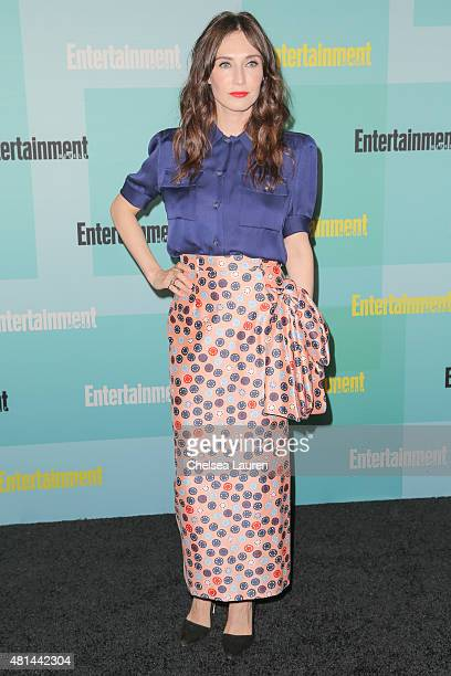 Actress Carice van Houten arrives at the Entertainment Weekly celebration at Float at Hard Rock Hotel San Diego on July 11 2015 in San Diego...