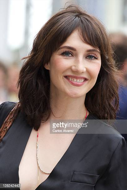 Actress Carice Van Houten arrives at the Maria Cristina Hotel during the 59th San Sebastian International Film Festival on September 16 2011 in San...