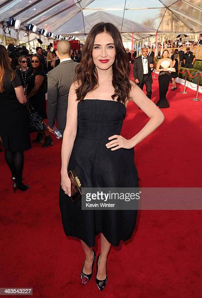 Actress Carice van Houten attends 20th Annual Screen Actors Guild Awards at The Shrine Auditorium on January 18 2014 in Los Angeles California