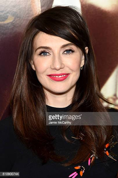 Actress Carice van Houten attends Race New York Screening at Landmark's Sunshine Cinema on February 17 2016 in New York City