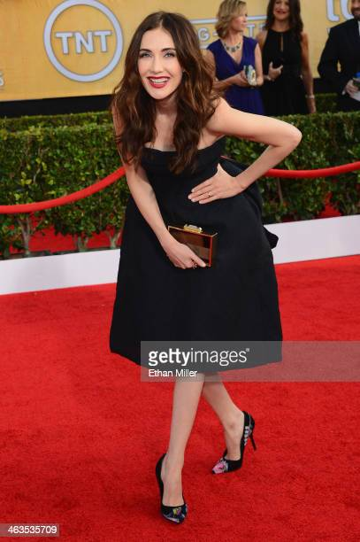 Actress Carice Van Houten attends the 20th Annual Screen Actors Guild Awards at The Shrine Auditorium on January 18 2014 in Los Angeles California