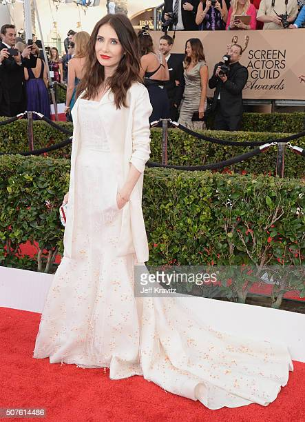 Actress Carice van Houten attends the 22nd Annual Screen Actors Guild Awards at The Shrine Auditorium on January 30 2016 in Los Angeles California