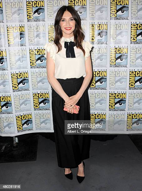 Actress Carice van Houten attends the 'Game of Thrones' panel during ComicCon International 2015 at the San Diego Convention Center on July 10 2015...