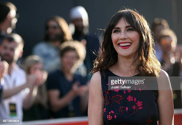 Actress Carice van Houten attends the premiere of HBO's 'Game of Thrones' Season 5 at San Francisco Opera House on March 23 2015 in San Francisco...