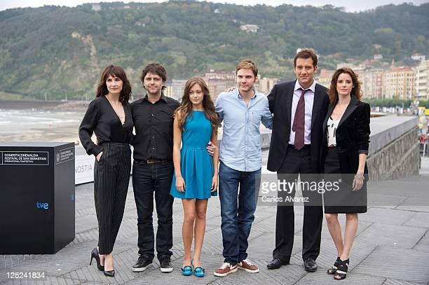 Actress Carice Van Houten director Juan Carlos Fresnadillo actress Ella Purnell actor Daniel Bruhl actor Clive Owen and Spanish actress Pilar Lopez...
