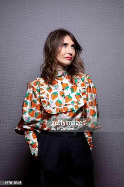 Actress Carice van Houten from 'Instinct' is photographed for Los Angeles Times on September 8 2019 at the Toronto International Film Festival in...