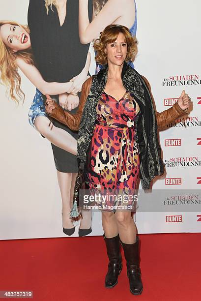 Actress Carin C Tietze attends the German premiere of the film 'The Other Woman' at Mathaeser Filmpalast on April 7 2014 in Munich Germany