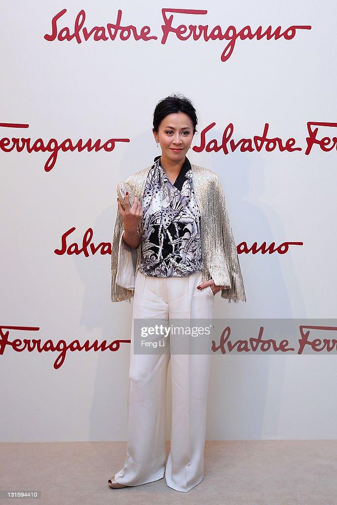 Salvatore Ferragamo Shows Spring Summer 2012 In Beijing : News Photo