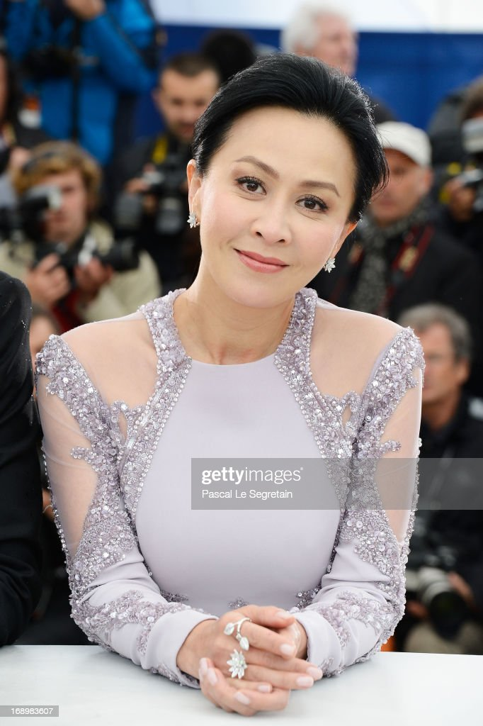 Actress Carina Lau attends 'Bends' Photocall during the 66th Annual Cannes Film Festival at Palais des Festivals on May 18, 2013 in Cannes, France.