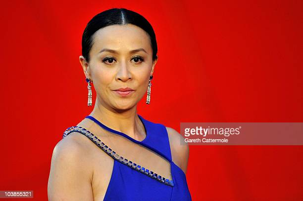 Actress Carina Lau attends the Detective Dee And The Mystery Of Phantom Flame premiere during the 67th Venice Film Festival at the Sala Grande...