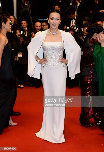 Actress Carina Lau attends the Premiere of 'Bends' at Palais des Festivals during The 66th Annual Cannes Film Festival on May 18 2013 in Cannes France