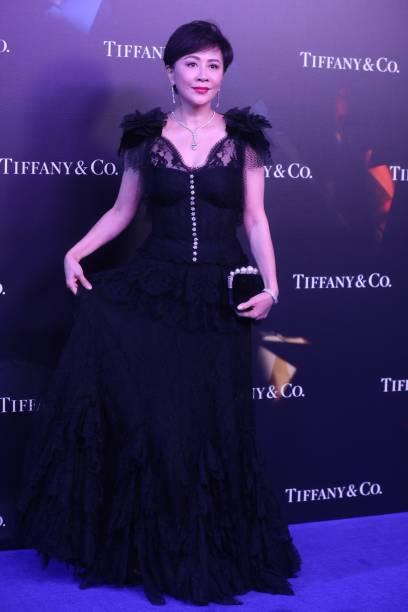 CHN: Carina Lau Attends Tiffany & Co. Event In Shanghai
