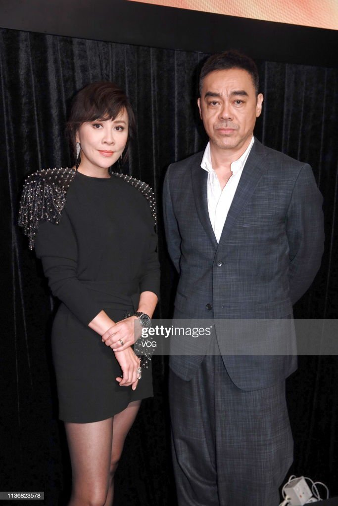 HKG: Carina Lau Attends One Cool Film Press Conference In Hong Kong