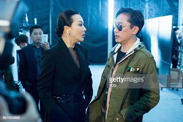 Actress Carina Lau Kar-ling and her husband actor Tony