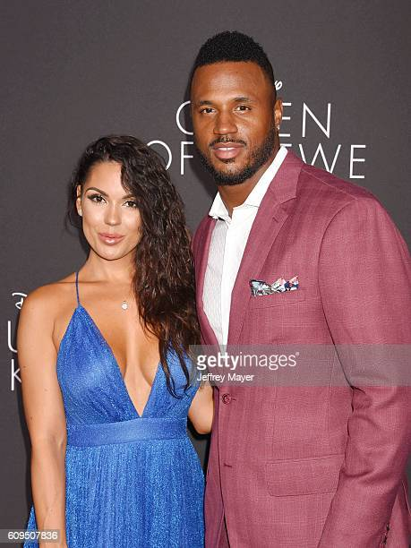 Actress Carissa Rosario and actor James Patterson attend the premiere of Disney's 'Queen Of Katwe' at the El Capitan Theatre on September 20, 2016 in...