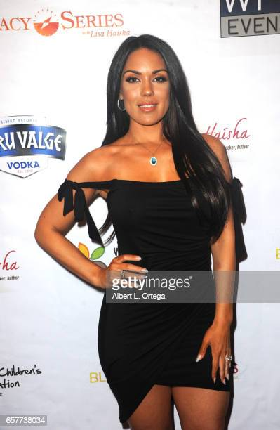 Actress Carissa Rosario arrives for the Whispers From Children's Hearts Foundation's 3rd Legacy Charity Gala held at Casa Del Mar on March 24 2017 in...