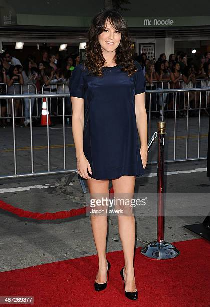 Actress Carla Gallo attends the premiere of 'Neighbors' at Regency Village Theatre on April 28 2014 in Westwood California