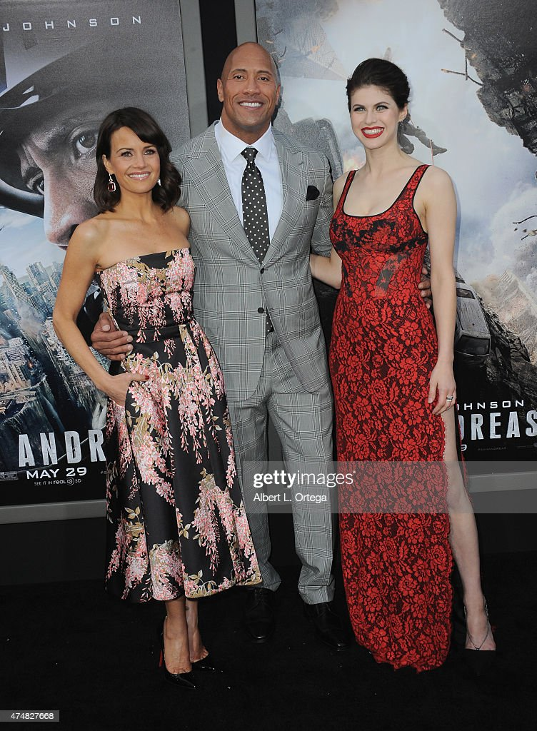Premiere Of Warner Bros. Pictures' 'San Andreas' - Arrivals : News Photo