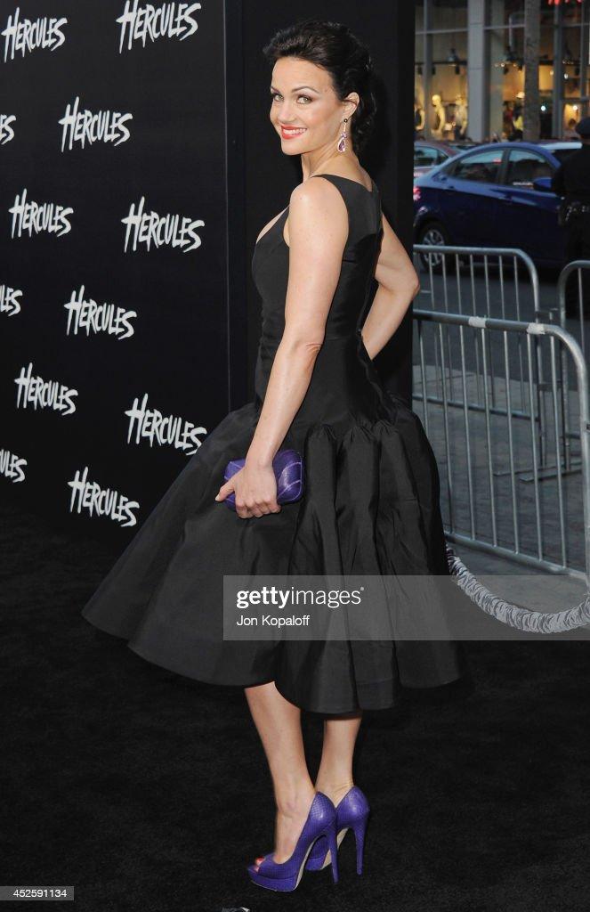"""Hercules"" - Los Angeles Premiere : News Photo"