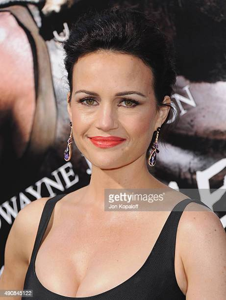 Actress Carla Gugino arrives at the Los Angeles Premiere Hercules at TCL Chinese Theatre on July 23 2014 in Hollywood California
