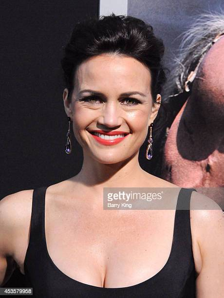 Actress Carla Gugino arrives at the Los Angeles Premiere 'Hercules' on July 23 2014 at TCL Chinese Theatre in Hollywood California
