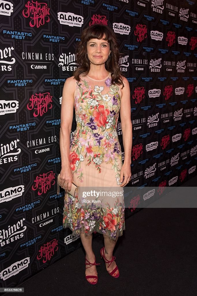 Actress Carla Gugino at the Netflix Films Gerald's Game Premiere at Fantastic Fest at the Alamo Dragthouse on September 24, 2017 in Austin, Texas.