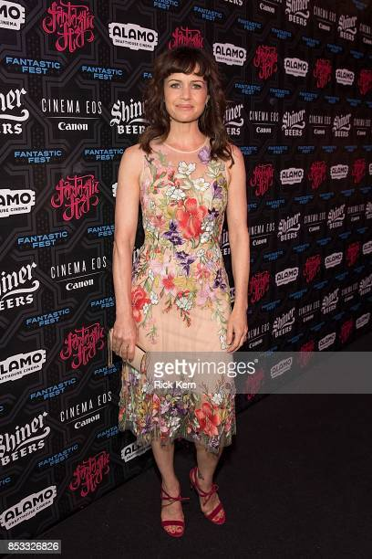 Actress Carla Gugino at the Netflix Films Gerald's Game Premiere at Fantastic Fest at the Alamo Dragthouse on September 24 2017 in Austin Texas