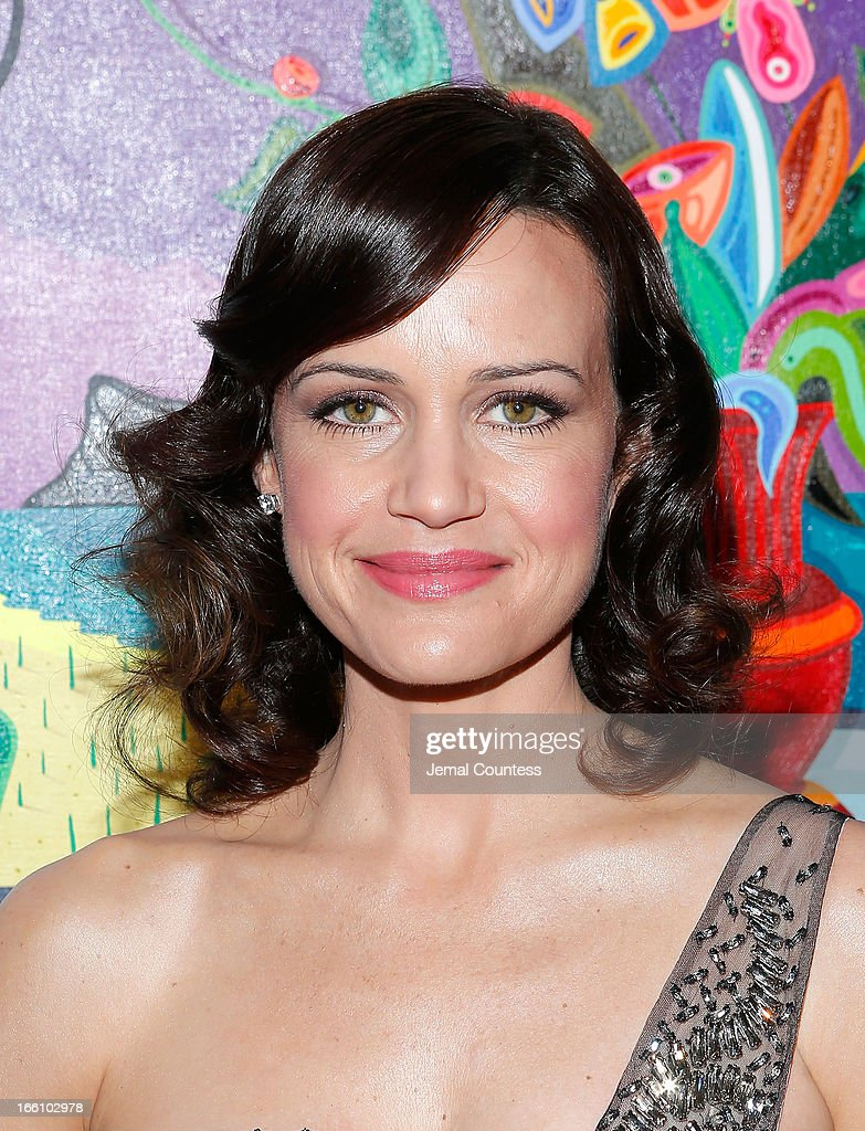 Actress Carla Gugino attends the 2013 Tribeca Ball at New York Academy of Art on April 8, 2013 in New York City.