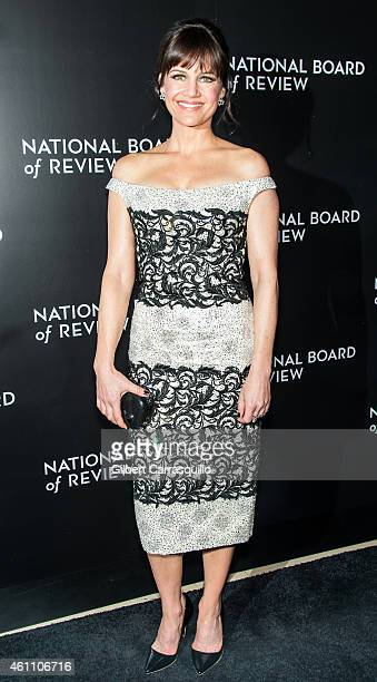 Actress Carla Gugino attends the 2014 National Board of Review Gala at Cipriani 42nd Street on January 6 2015 in New York City