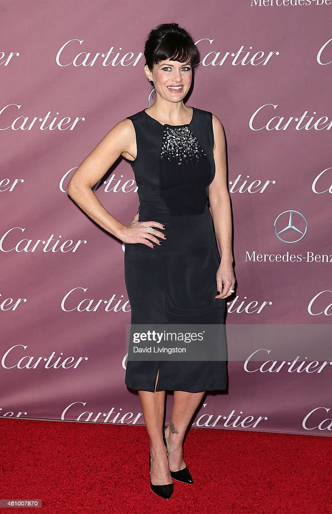 Actress Carla Gugino attends the 26th Annual Palm Springs International Film Festival Awards Gala at the Palm Springs Convention Center on January 3, 2015 in Palm Springs, California.