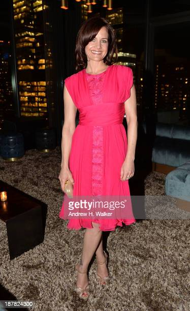 Actress Carla Gugino attends the after party for the premiere of Philomena hosted by The Weinstein Company on November 12 2013 in New York City