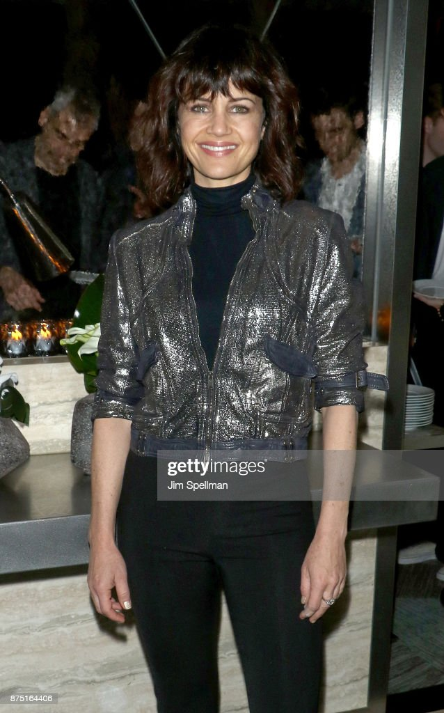 Actress Carla Gugino attends the after party for the screening of Sony Pictures Classics' 'Call Me By Your Name' hosted by Calvin Klein and The Cinema Society at Bar SixtyFive on November 16, 2017 in New York City.