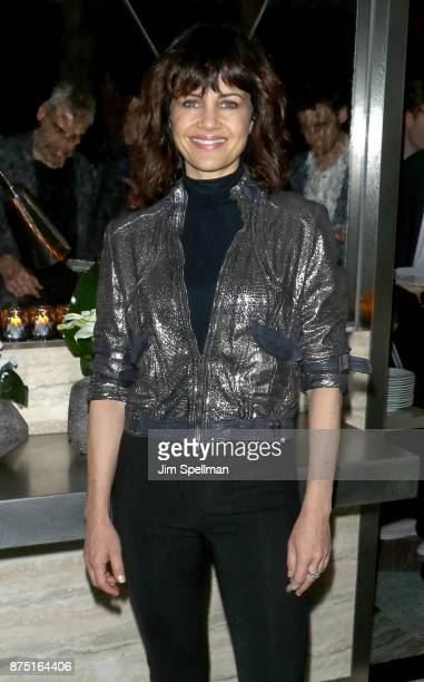 Actress Carla Gugino attends the after party for the screening of Sony Pictures Classics' 'Call Me By Your Name' hosted by Calvin Klein and The...