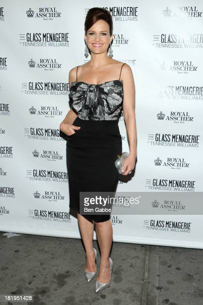 Actress Carla Gugino attends 'The Glass Menagerie' Broadway Opening Night at Booth Theater on September 26 2013 in New York City