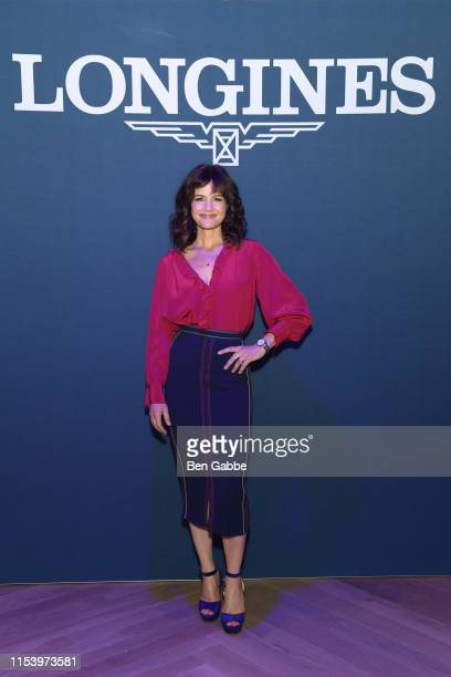 Actress Carla Gugino attends the InStyle Talks: Power Players presented by Longines & launch of Longines Conquest Classic Collection on June 05, 2019...