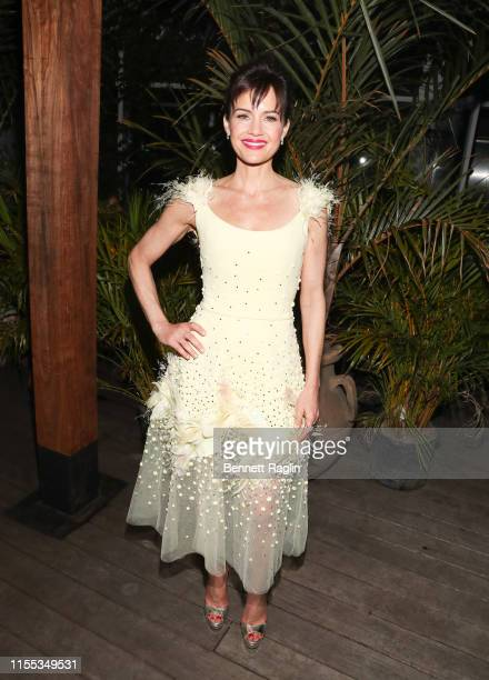 Actress Carla Gugino attends the New York Screening of Jett after party at Gitano Jungle Terraces on June 11 2019 in New York City