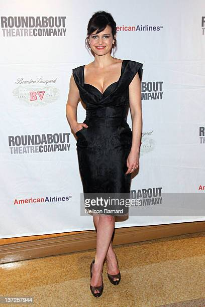 Actress Carla Gugino attends The Road To Mecca opening night after party at the American Airlines Theatre on January 17 2012 in New York City